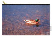 Mallard In Spring Carry-all Pouch