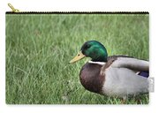Mallard In The Grass Carry-all Pouch