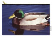 Mallard In The Mirror Carry-all Pouch