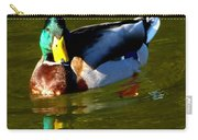 Mallard Male Duck Carry-all Pouch