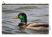 Mallard On The Lake Carry-all Pouch
