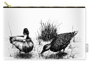 Mallards In The Marsh Carry-all Pouch