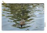 Mallards On Golden Pond 4 Carry-all Pouch