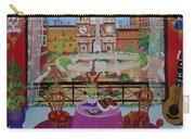 Mallorca, Spain, 2012 Acrylic On Canvas Carry-all Pouch