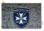 Malta Boat Club Carry-all Pouch