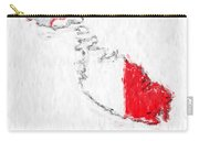 Malta Painted Flag Map Carry-all Pouch
