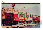 Mamma Mia's Italian Eatery Foods To Remember Niagara Falls Landmark Diner Ontario Paintings Cspandau Carry-all Pouch