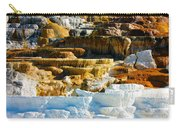 Mammoth Hot Springs Rock Formation No1 Carry-all Pouch