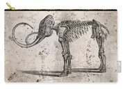 Mammoth Skeleton Carry-all Pouch