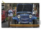 Man And His Jeep Carry-all Pouch