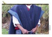 Man At Otavalo Animal Market Ecuador Carry-all Pouch