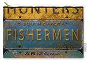 Man Cave-license Plate Art Carry-all Pouch