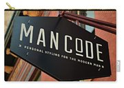Man Code Carry-all Pouch