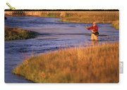 Man Fly Fishing On The Owens River Carry-all Pouch