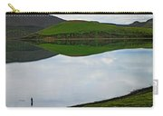 Man Flyfishing At Froststadavatn Lake Carry-all Pouch