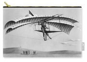 Man Gliding In 1883 Carry-all Pouch