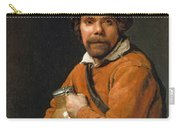 Man Holding A Jug Carry-all Pouch