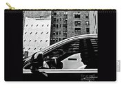 Man In Car - Scenes From A Big City Carry-all Pouch