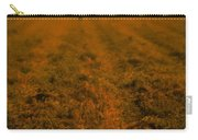 Man In Field At Sunset Carry-all Pouch
