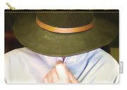 Man In Hat Carry-all Pouch