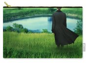 Man In Top Hat On A Hill Carry-all Pouch