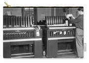 Man Loading Punch Cards Carry-all Pouch