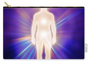 Man Luminous Ethereal Body Energy Emanations Concept Carry-all Pouch