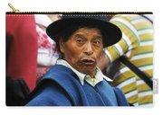 Man Of Cotacachi Ecuador Carry-all Pouch