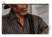 Man On Guitar Carry-all Pouch