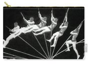 Man Pole Vaulting 1884 Carry-all Pouch by Nypl