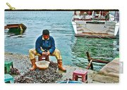 Man Selling Fresh Mussels On The Bosporus In Istanbul-turkey  Carry-all Pouch
