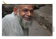 Man Smiles For Camera Lahore Pakistan Carry-all Pouch
