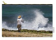Man Versus The Sea Carry-all Pouch