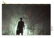 Man Waiting In Fog With Case Carry-all Pouch
