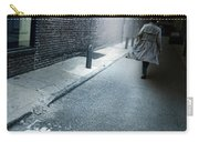 Man Walking Down A Dark Alley Carry-all Pouch
