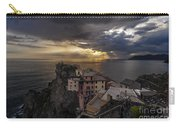 Manarola Sunset Storm Carry-all Pouch