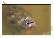 Manatee Face Carry-all Pouch