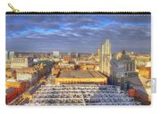 Manchester Skyline Panoramic Hdr Carry-all Pouch