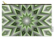 Mandala 107 Green Carry-all Pouch