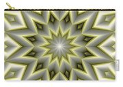 Mandala 107 Yellow Carry-all Pouch