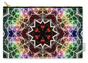 Mandala Cage Of Light Carry-all Pouch