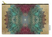 Mandala Crystal Carry-all Pouch by Filippo B