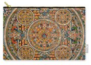 Mandala Of Heruka In Yab Yum And Buddhas Carry-all Pouch by Lanjee Chee