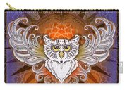 Mandala Owl Carry-all Pouch