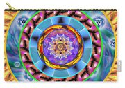 Mandala Wormhole 101 Carry-all Pouch by Derek Gedney