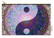 Mandala Yin Yang Carry-all Pouch
