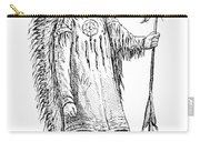 Mandan Indian Chief Carry-all Pouch