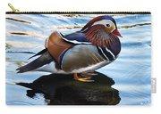 Mandarin Duck Carry-all Pouch by Robert Bales