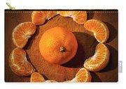 Mandarin - Vignette Carry-all Pouch by Kaye Menner