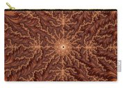 Mandelbrot Woodcarving Carry-all Pouch